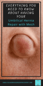 pin to a post about having your umbilical hernia repair with mesh